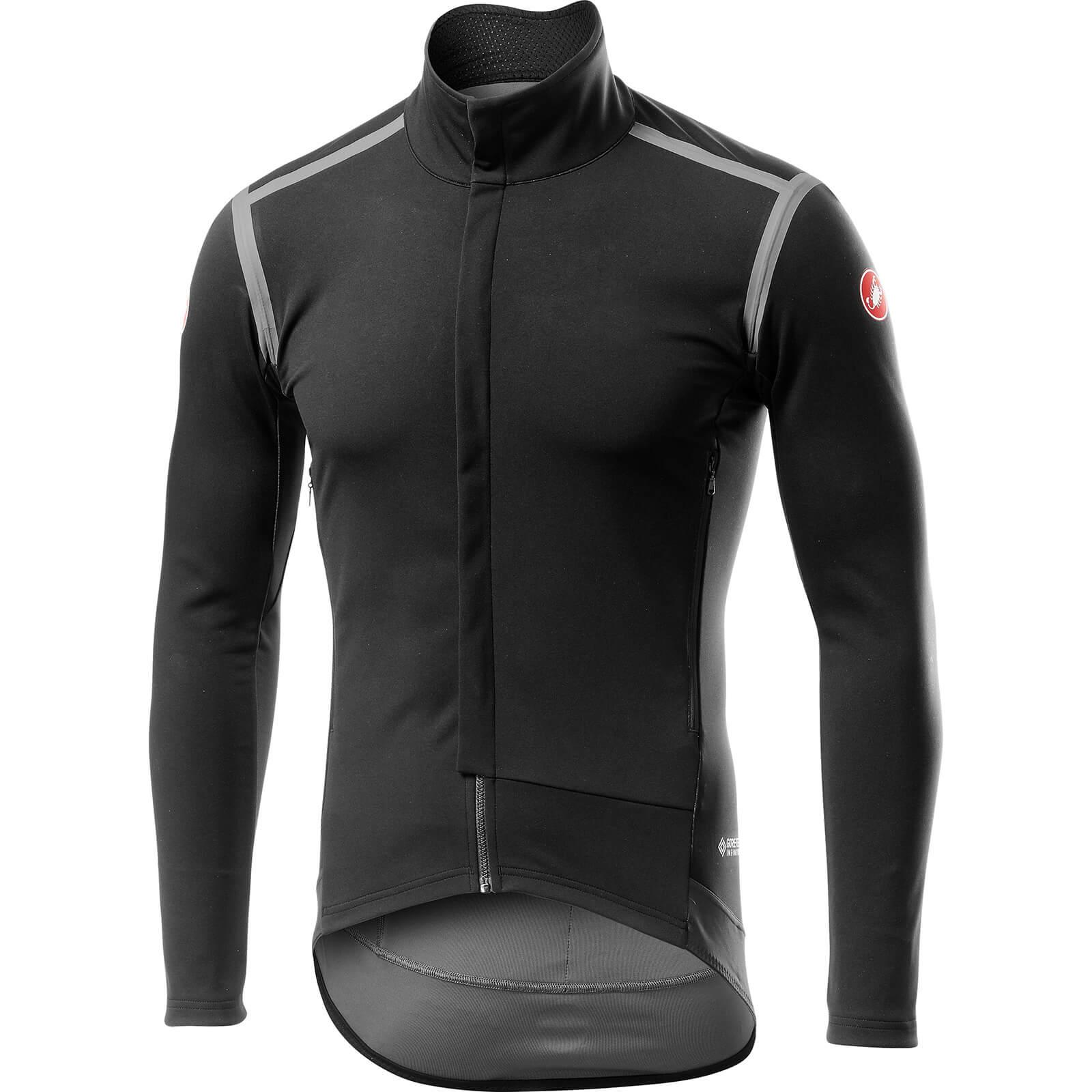 Castelli Perfetto RoS Long Sleeve Jacket - S - Light Black