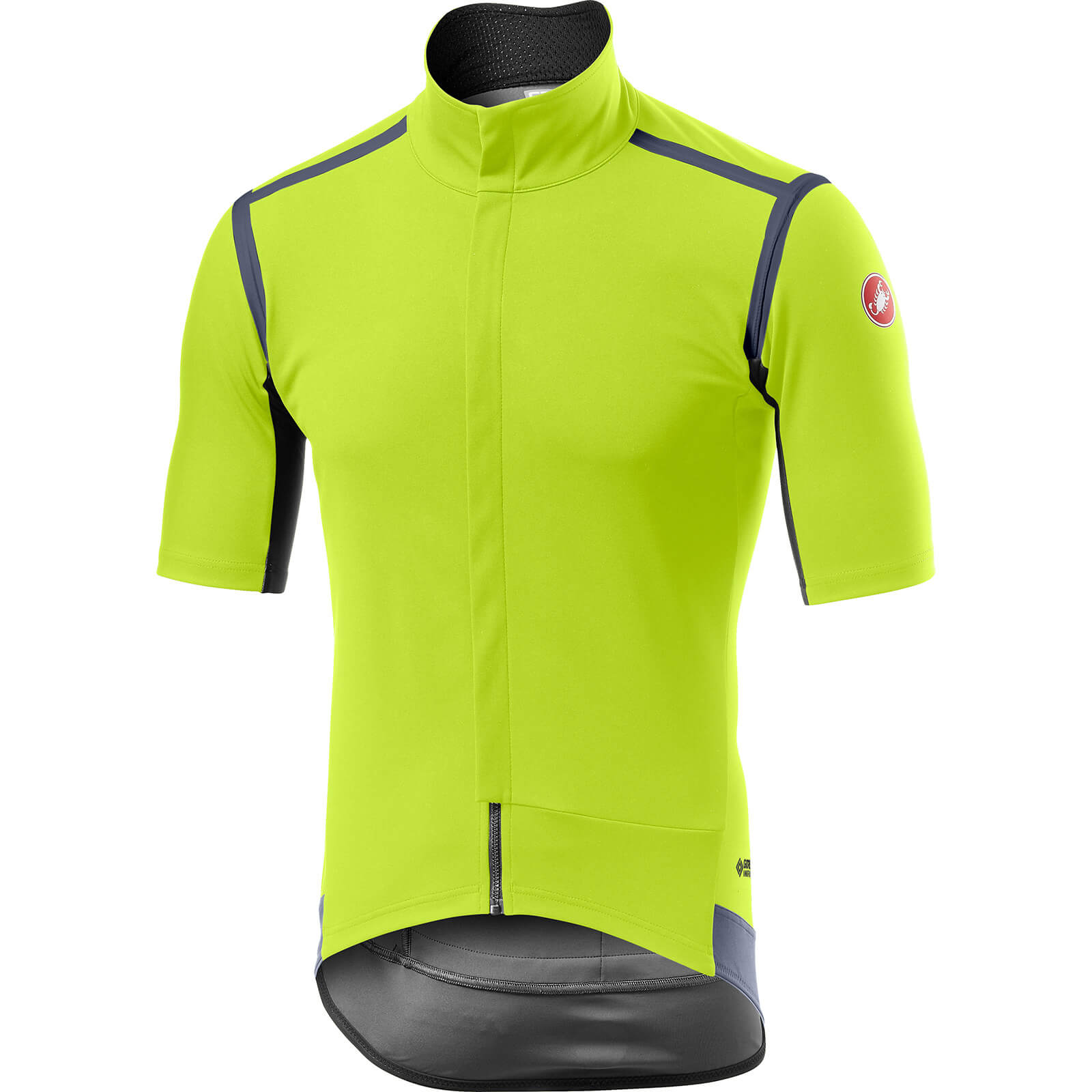 Image of Castelli Gabba RoS Jersey - XL - Yellow Fluo