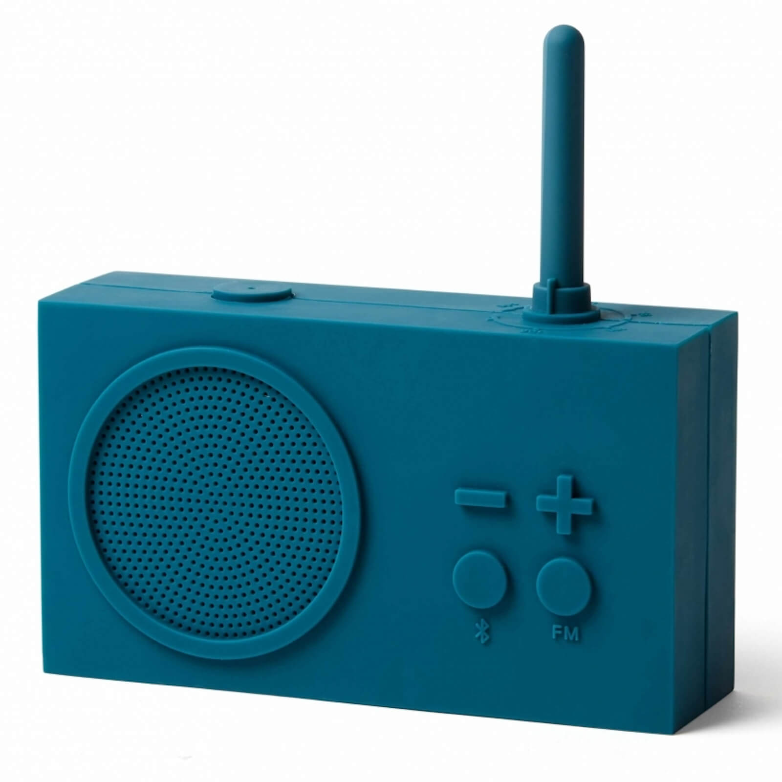 Lexon TYKHO 3 FM Radio and Bluetooth Speaker - Duck Blue