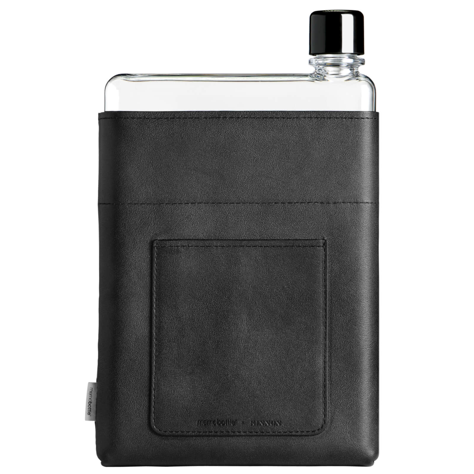 Memobottle A5 Vegan Leather Sleeve - Black