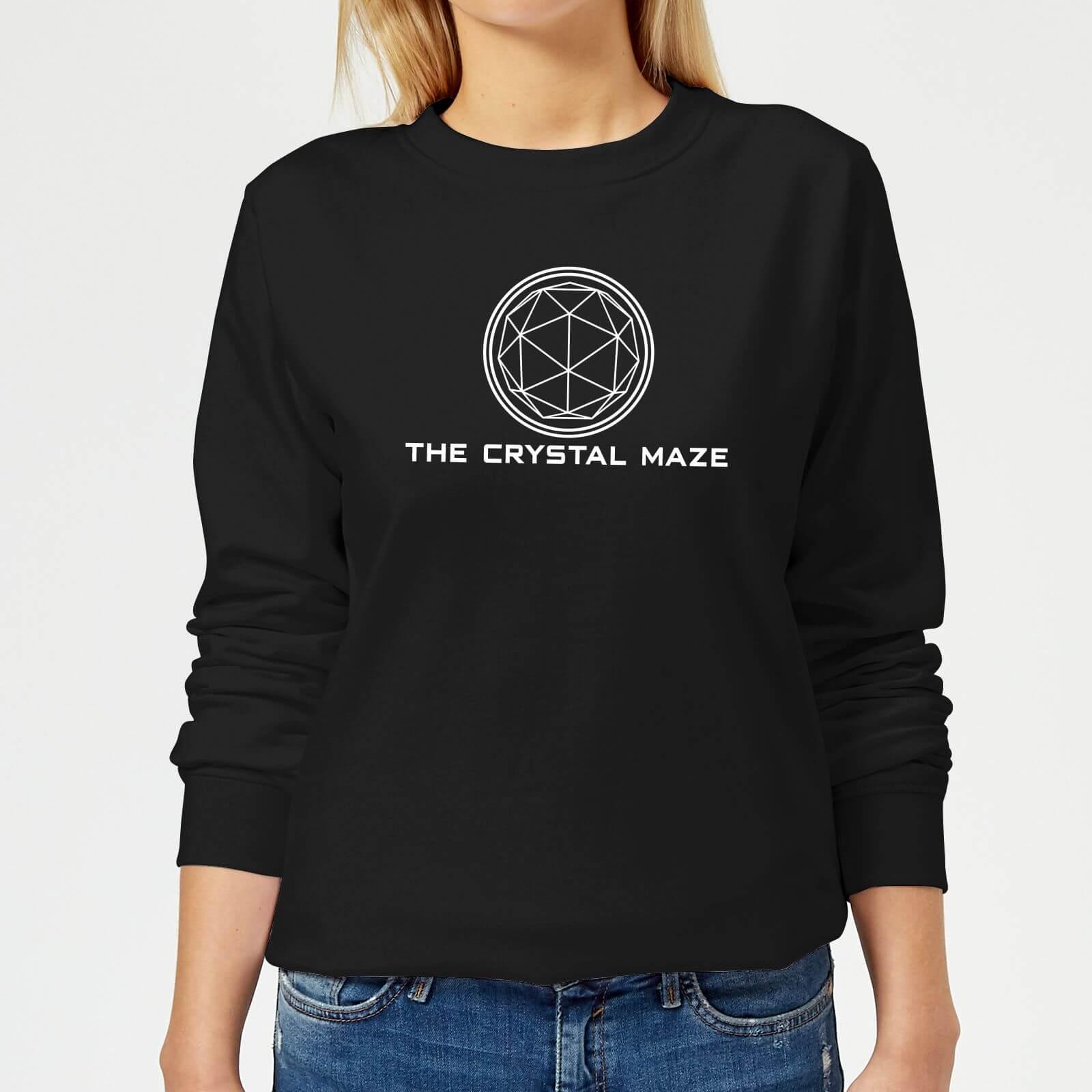 Crystal Maze Crystal Maze Logo Women's Sweatshirt - Black - 5XL - Black