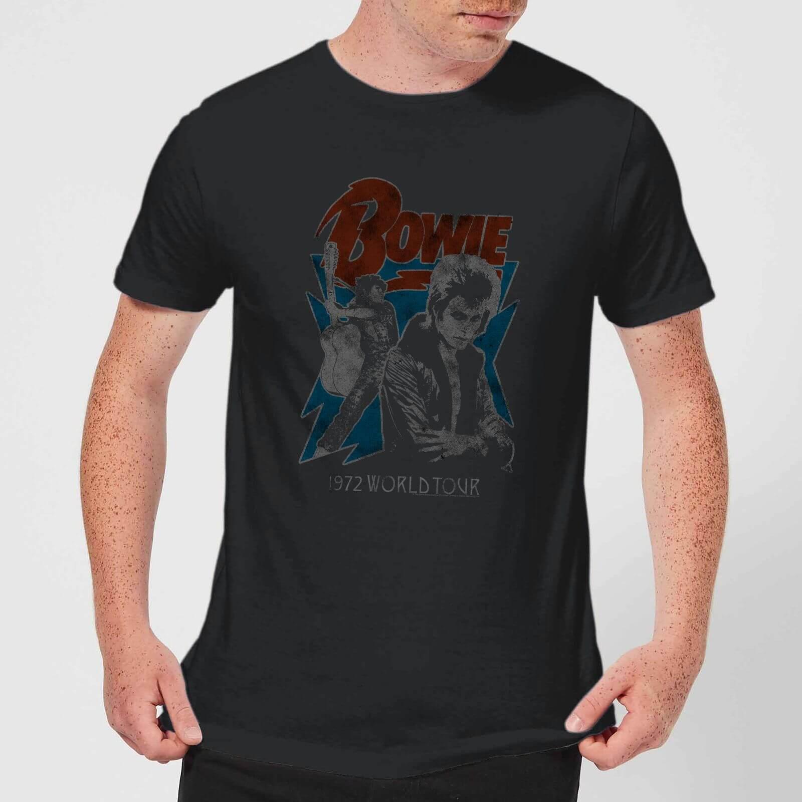 David Bowie 72 Tour Men's T-Shirt - Black - 5XL - Schwarz