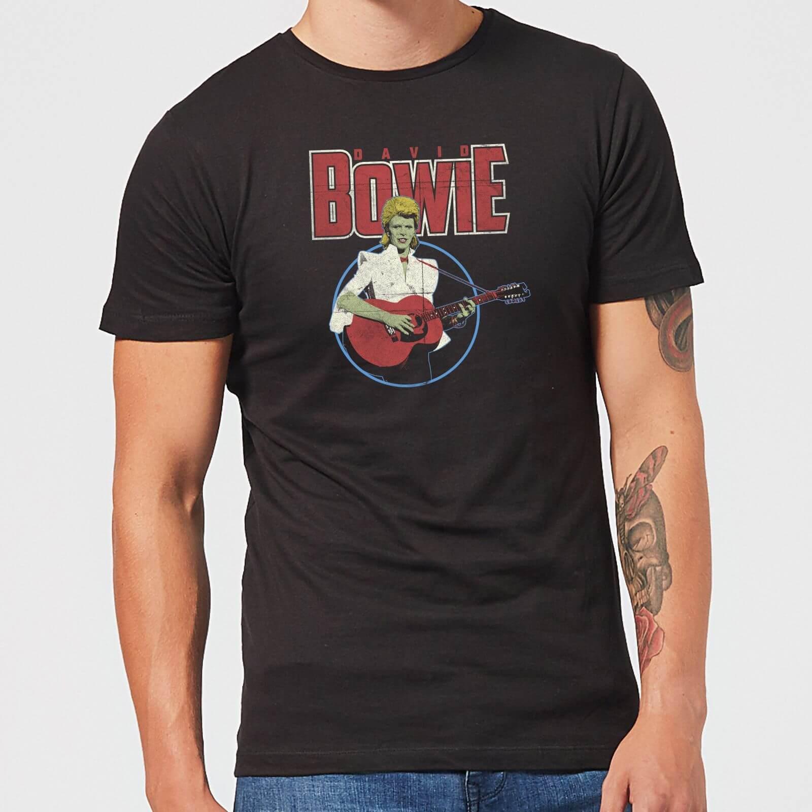 David Bowie Bootleg Men's T-Shirt - Black - 5XL - Black