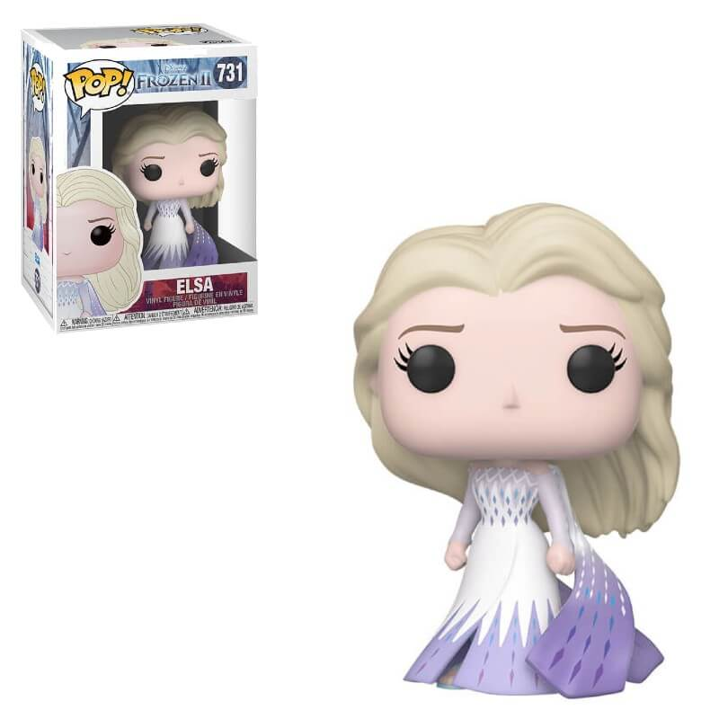 Disney Frozen 2 Elsa Epilogue Dress Funko Pop Vinyl Pop In A Box Us