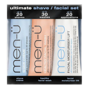 menü Ultimate Shave Facial Set  15ml (3 Products)
