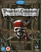 Pirates of Caribbean Box Set (1-4 plus bonus disc)