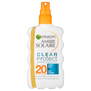 Image of Ambre Solaire Clear Protect Transparent Sun Cream Protection Spray SPF20 200ml