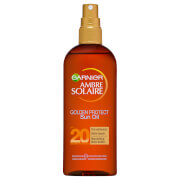 Image of Ambre Solaire Golden Protect Shea Butter Tan Enhancing Sun Oil SPF20 150ml
