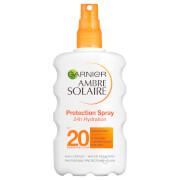 Купить Солнцезащитный спрей «Идеальный Загар», SPF 20 Garnier Ambre Solaire Ultra-Hydrating Sun Cream Spray SPF 20 200 мл