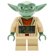 LEGO Clone Wars: Yoda Mini-Figure Clock