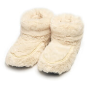 Warmies Hot Boots - Cream