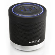 Veho Portable 360 Bluetooth Speaker (2x 2.2W) - Black
