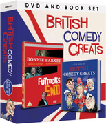 British Comedy Greats (Book and DVD Set)