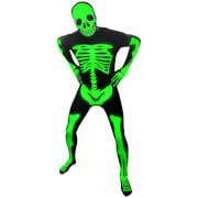 Morphsuit Adults' Glow in the Dark Skeleton - Black
