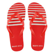 Tongs Homme Brave Soul Coast - Rouges