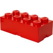 Brique de rangement LEGO® rouge 8 tenons