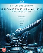 Prometheus to Alien: The Evolution Boxset