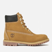 Timberland Women's 6 Inch Premium Leather Boots - Wheat - UK 7 - Tan