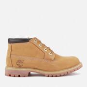 Timberland Women's Nellie Double Leather Chukka Boots - Wheat - UK 3 - Tan