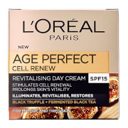 Крем L'Oreal Paris Dermo Expertise Age Perfect Cell Renew Advanced Restoring Day Cream - SPF15 (50 мл) фото