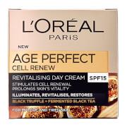 Купить Крем L'Oreal Paris Dermo Expertise Age Perfect Cell Renew Advanced Restoring Day Cream - SPF15 (50 мл)