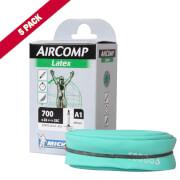 Image of Michelin Aircomp Latex Road Inner Tube - Pack of 5 Long Valve