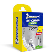 Image of Michelin Aircomp Latex Road Inner Tube - Pack of 5 Long Valve