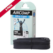 Image of Michelin Aircomp Road Long Valve Inner Tube - Pack of 5