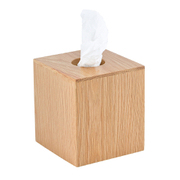Wireworks Mezza Natural Oak Tissue Box