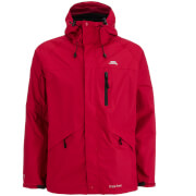 Trespass Mens Corvo Waterproof Jacket  Red  S
