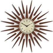 Newgate Pluto Wall Clock - Brown