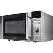 Image of Akai A24003 Digital Microwave - Silver - 800W