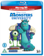 Monsters University 3D (versión 2D incl.)