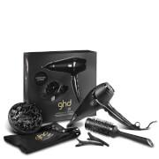 ghd Air Kit (ghd Diffuser and Size 3 Ceramic Brush) (Worth £137.45)