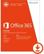 Microsoft Office 365 Home Premium - Licencia para 5 Usuarios, 1 Año (PC/Mac)