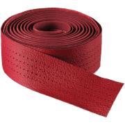 Selle Italia Smootape Classica Leather Bicycle Bar Tape - Eine Größe - Red Gel