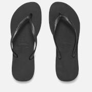 Havaianas Damen Slims Flip Flops - Schwarz
