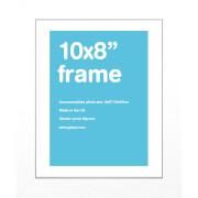 """White Frame 10"""""""" x 8"""""""