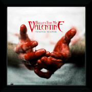 "Bullet For My Valentine Temper - 12"""" x 12"""" Framed Album Prints"
