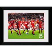 """Liverpool Legends - 16"""""""" x 12"""""""" Framed Photographic"""