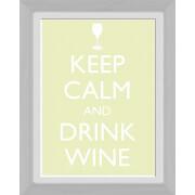Keep Calm Wine - 30 x 40cm Collector Prints
