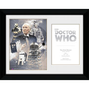 Doctor Who 1st Doctor William Hartnell   30 X 40cm Collector Prints