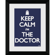 Doctor Who Keep Calm - 30 x 40cm Collector Prints