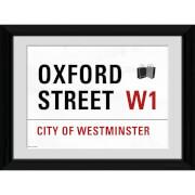 London Oxford Street - 30 x 40cm Collector Prints