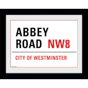 Abbey Road - 8 x 6 Framed Photographic