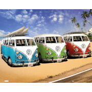 VW Californian Camper Camper - Mini Poster - 40 x 50cm