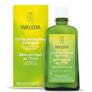 Купить Освежающее молочко для ванны с экстрактом цитрусовых Weleda Citrus Refreshing Bath Milk (200мл)