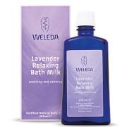 Купить Расслабляющее молочко для ванны с лавандой Weleda Lavender Relaxing Bath Milk (200мл)