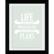 Life Plans - Collector Print - 30 x 40cm
