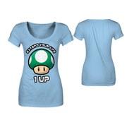 Mushroom - T-Shirt Girls' (Sky Blue)